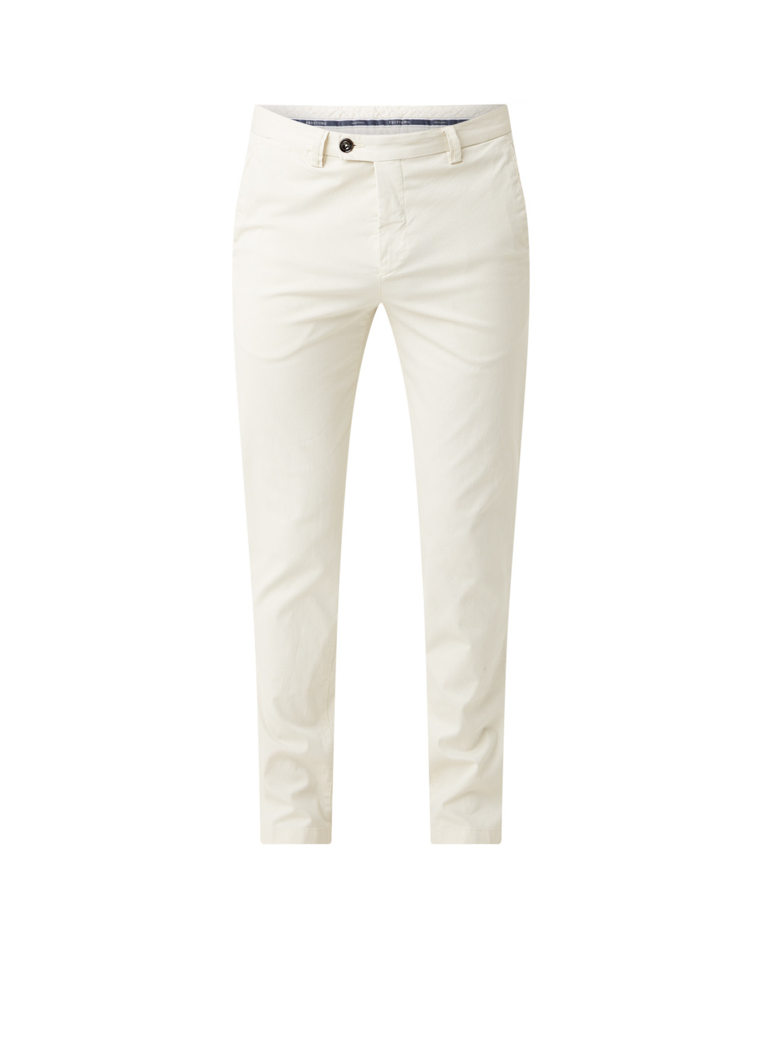 Profuomo Slim fit chino met microdessin
