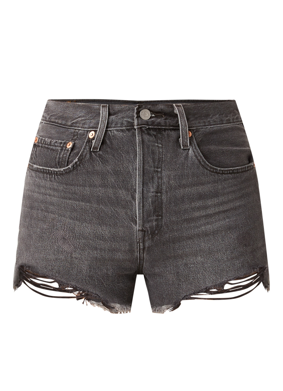 501 high waist shorts van denim