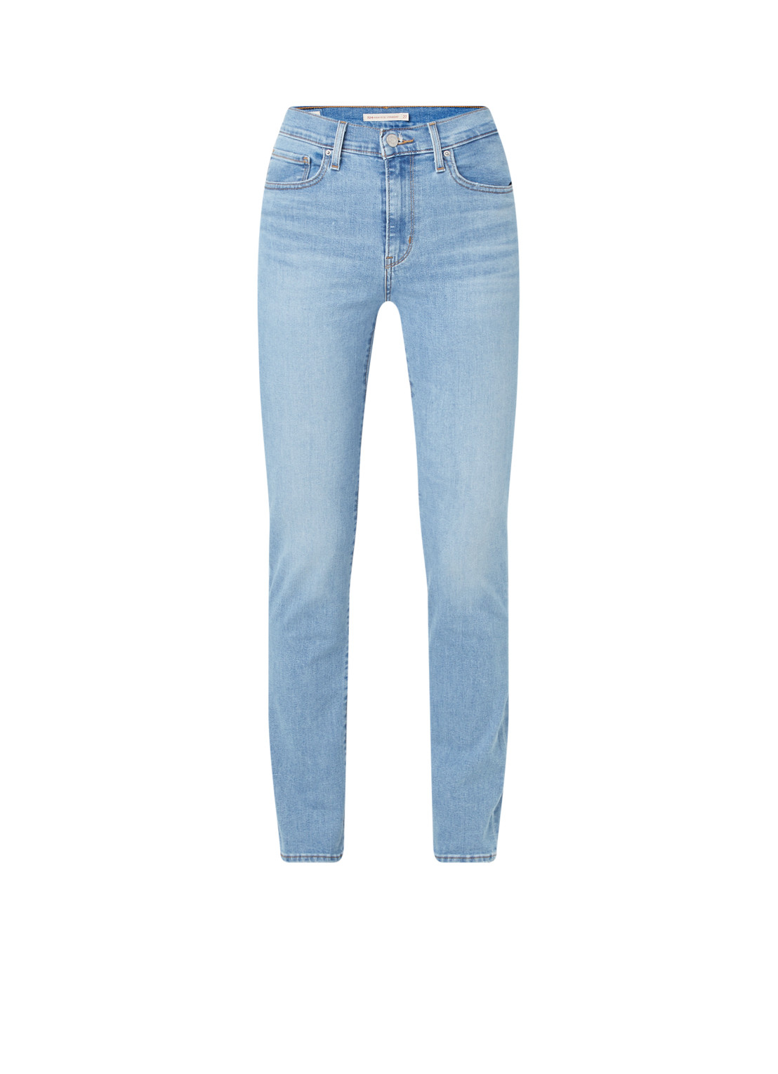 724 high waist slim fit jeans met stretch