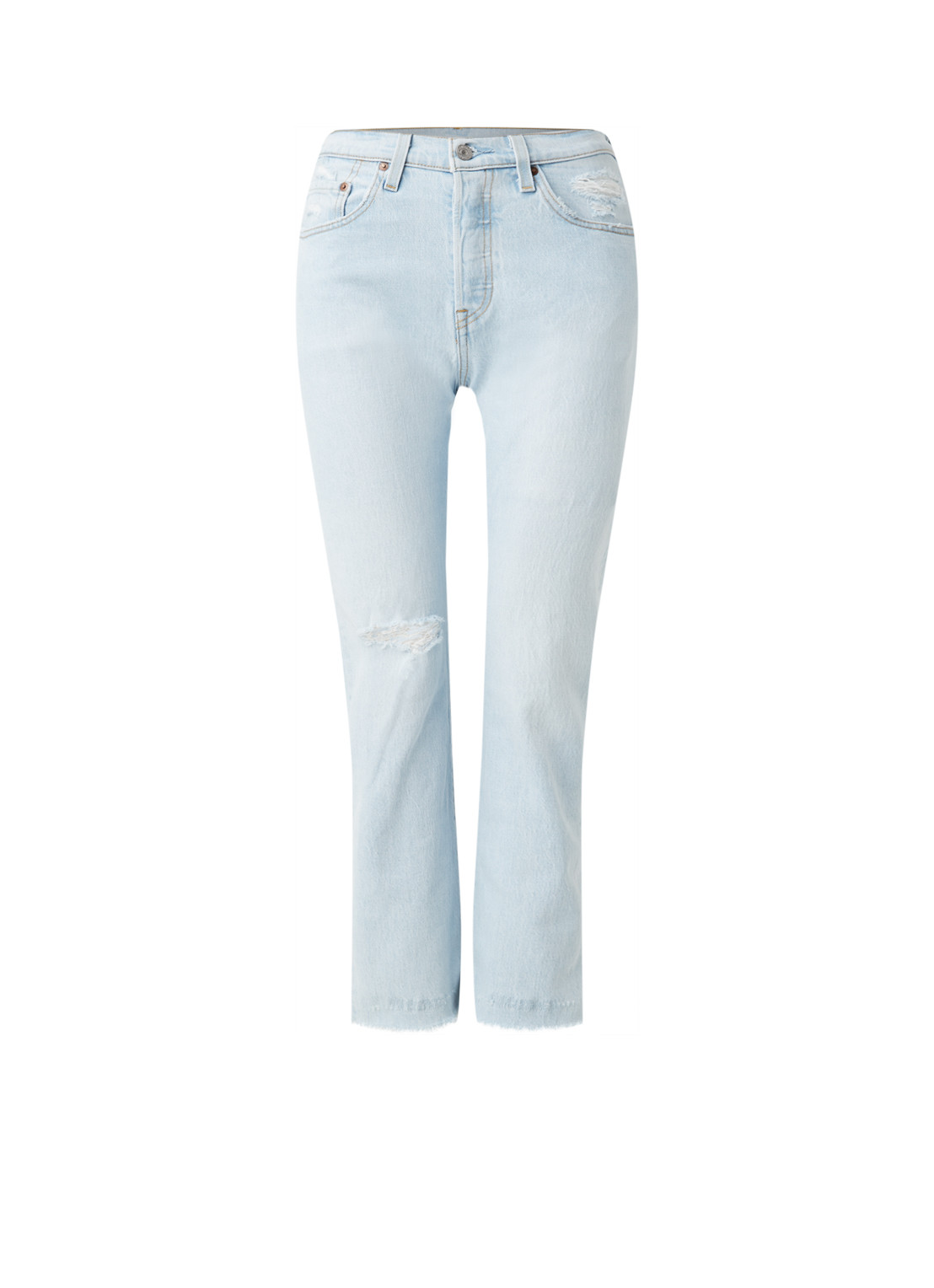 501 Shout Out high waist slim fit cropped jeans