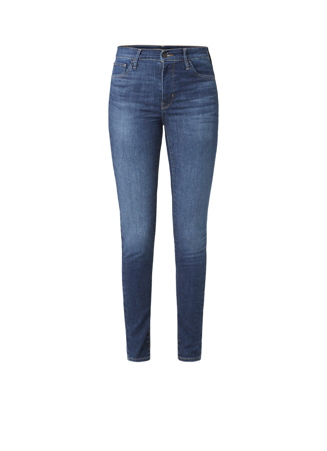 720 High rise super skinny jeans met stretch