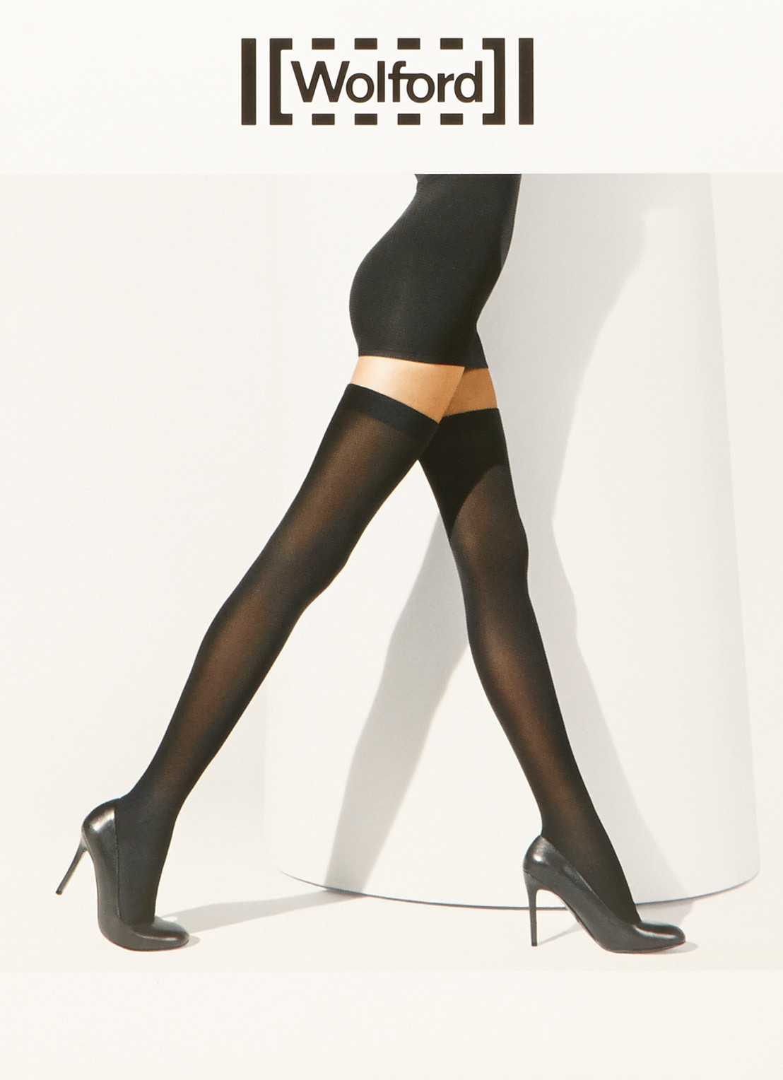 Wolford Fatal Seamless stay-ups in 80 denier