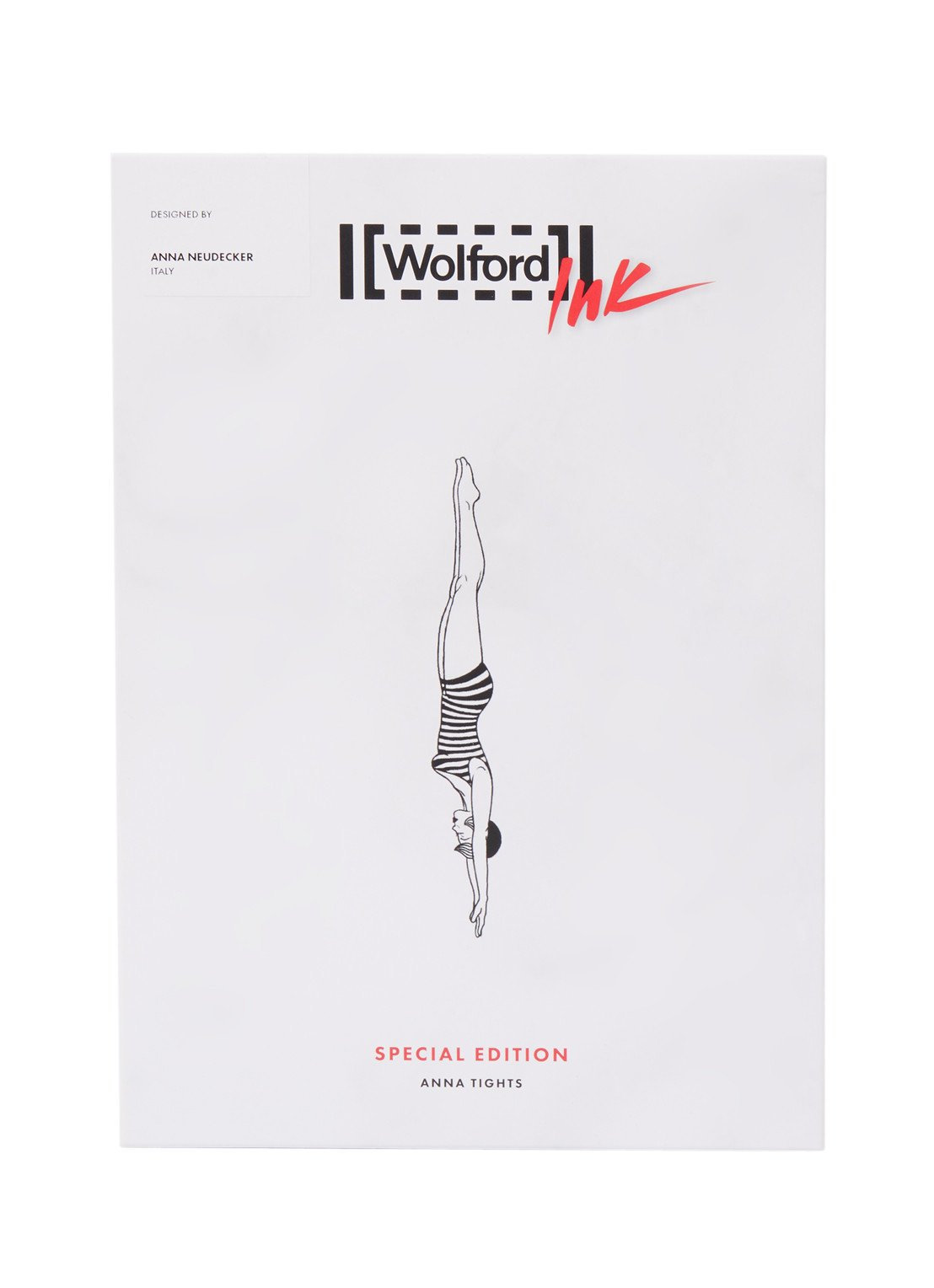 Wolford Anna Ink panty met tattoo detail