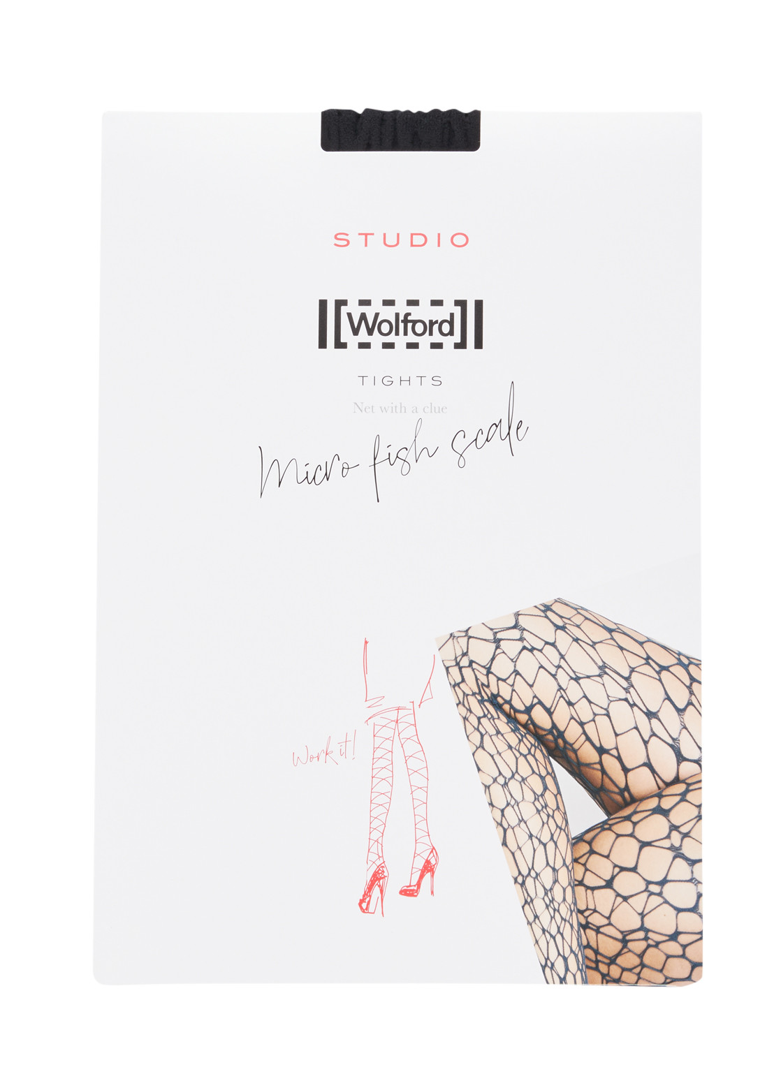 Wolford Micro Fish Scale net panty