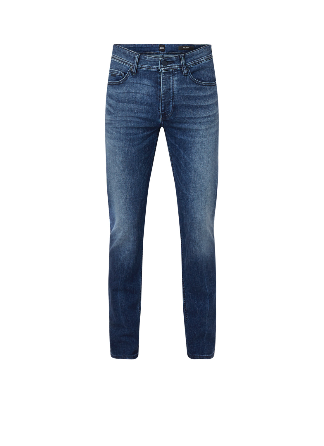 HUGO BOSS Taber tapered fit jeans met stretch