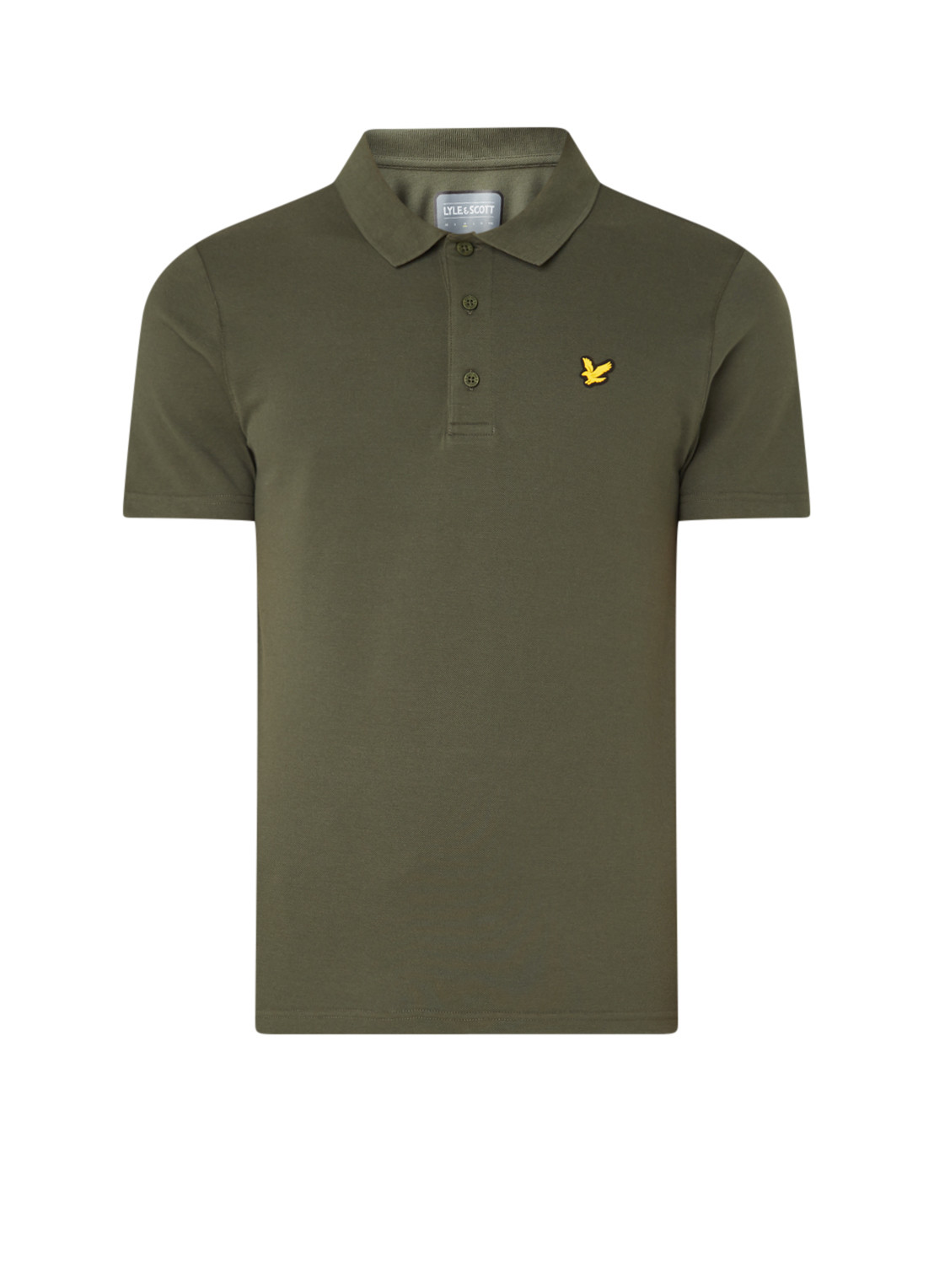 Lyle and Scott Trainings polo in katoenblend