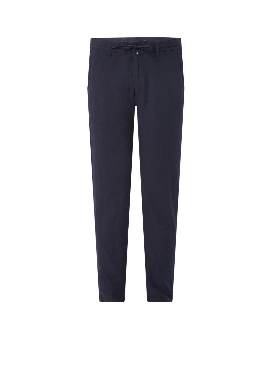 Marc OPolo Stig Jogger tapered fit pantalon in linnenblend
