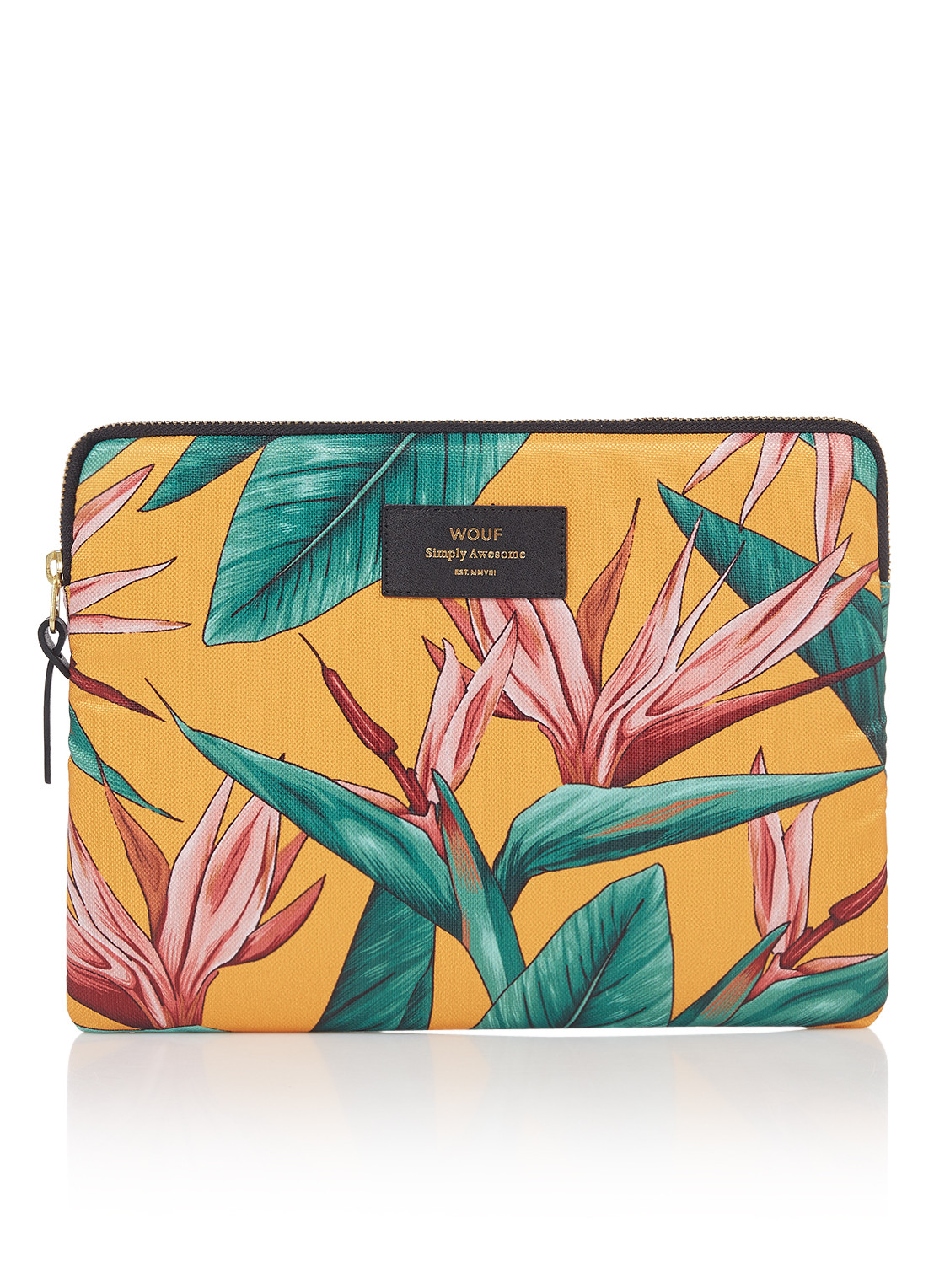 Wouf Birds Of Paradise tablethoes met dessin 10.5 inch