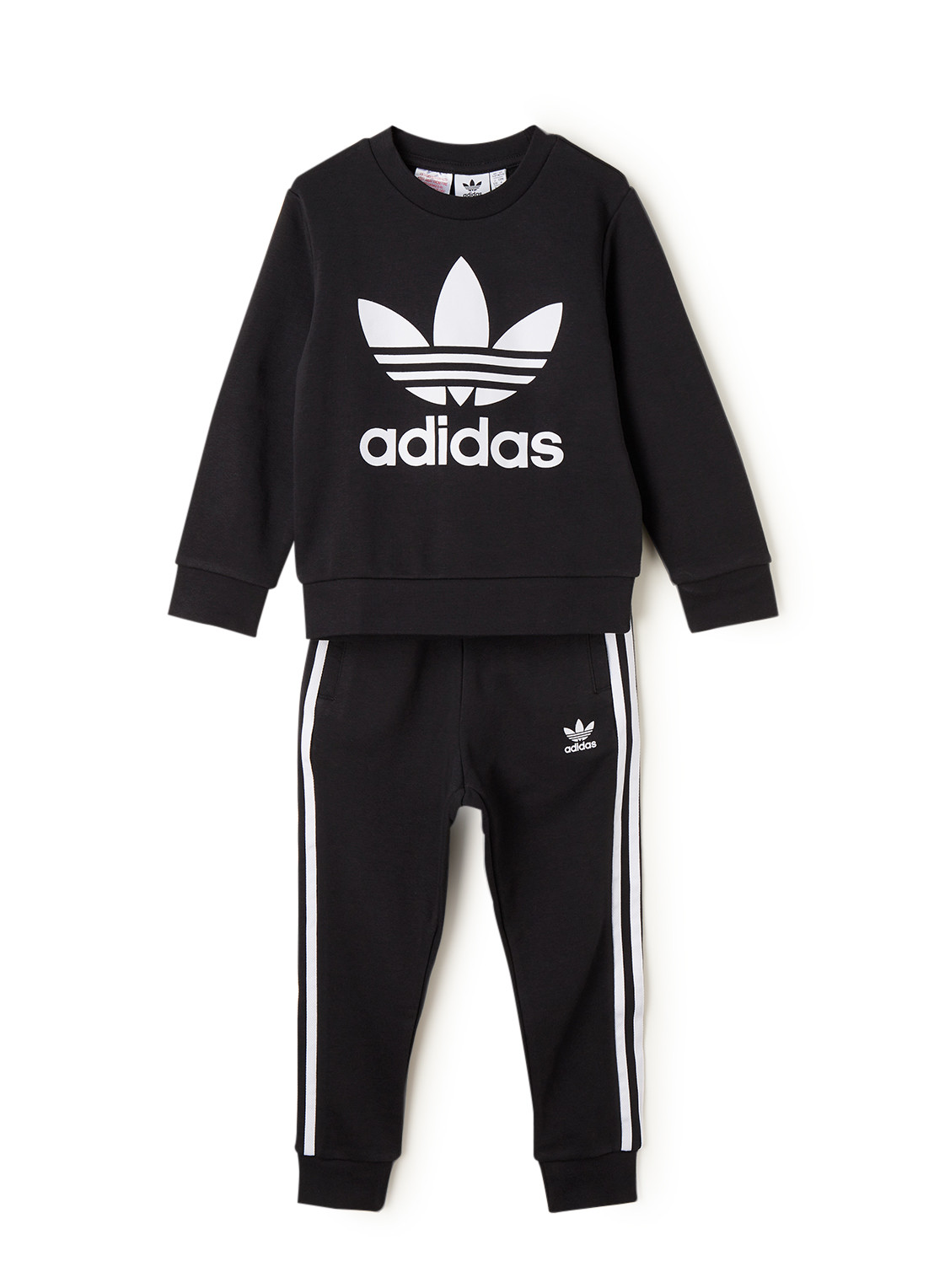 adidas Trefoil set van sweater en joggingbroek 2-delig