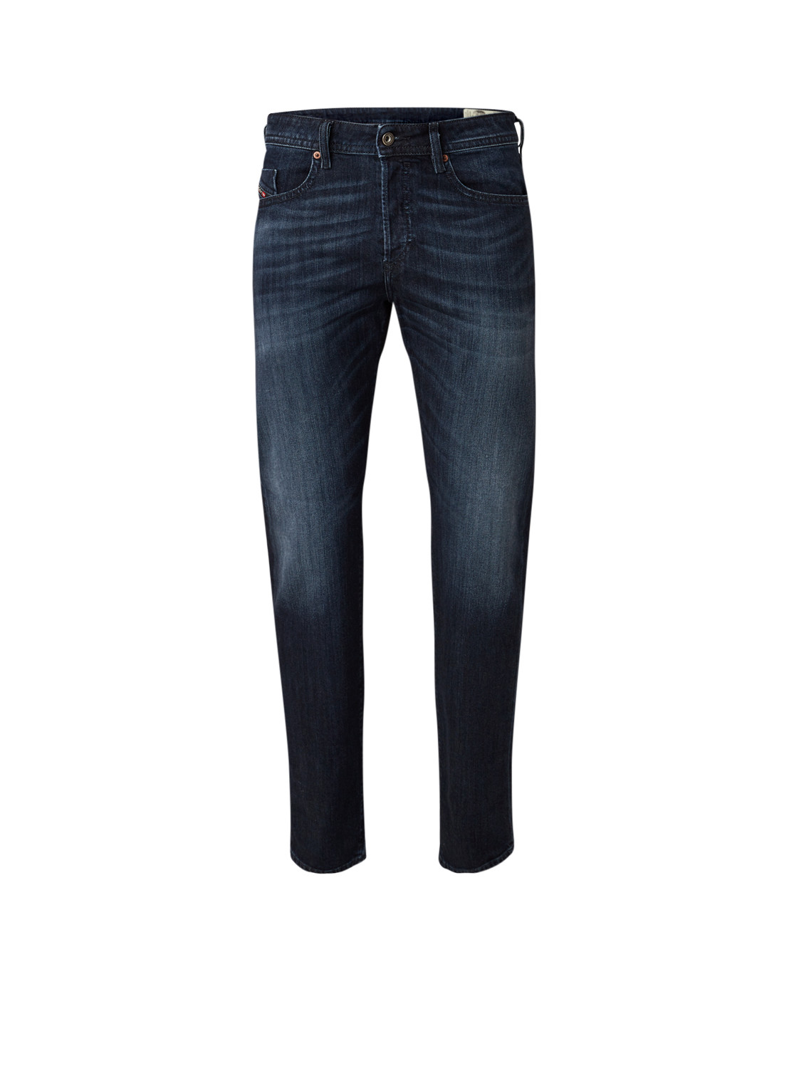 Diesel Buster straight fit jeans met donkere wassing