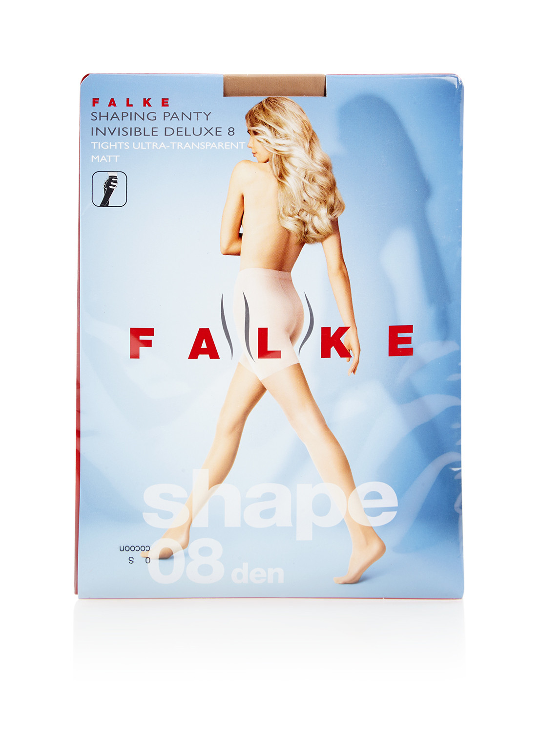 Falke Invisible Shapping panty in 8 denier cocoon