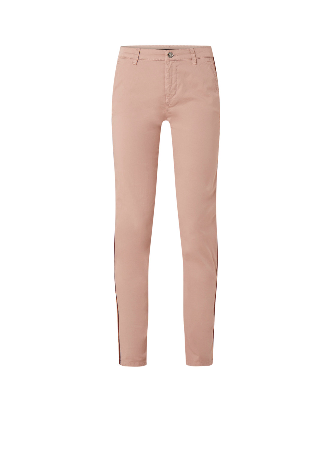 MAC MAC High waist slim fit chino met contrastbies kopen