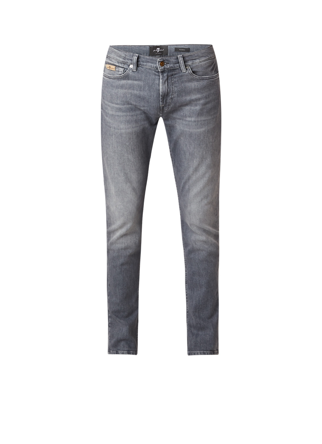 7 For All Mankind Ronnie slim fit jeans met stretch
