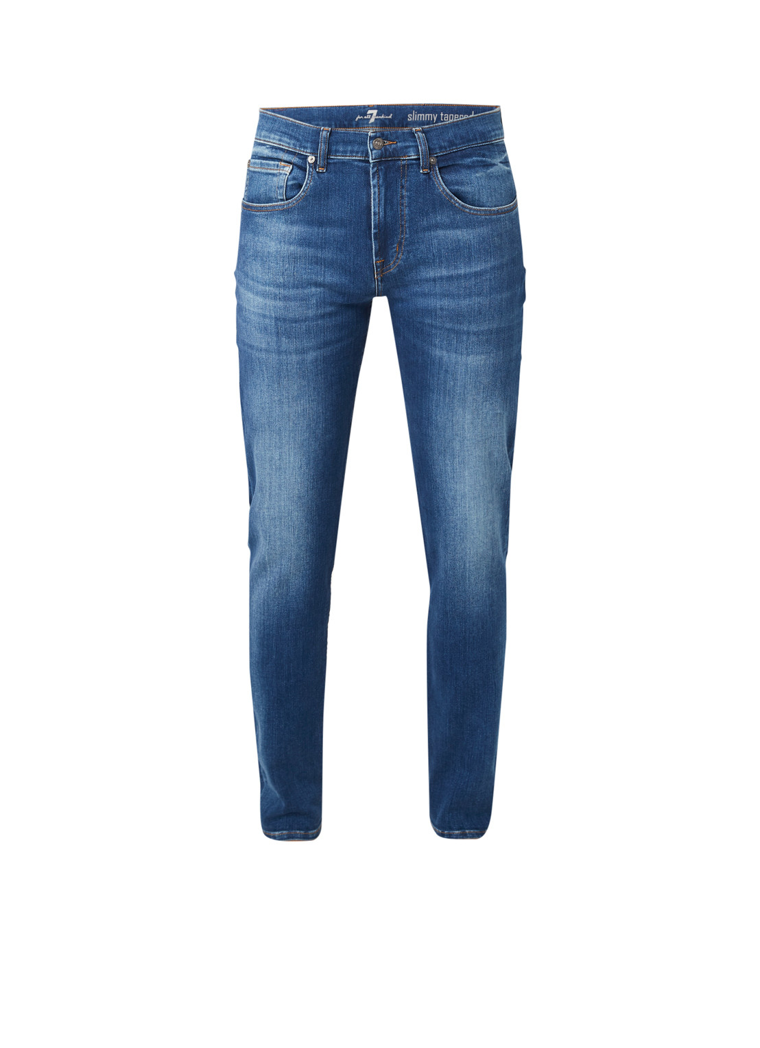 7 For All Mankind Slimmy tapered fit jeans met stretch