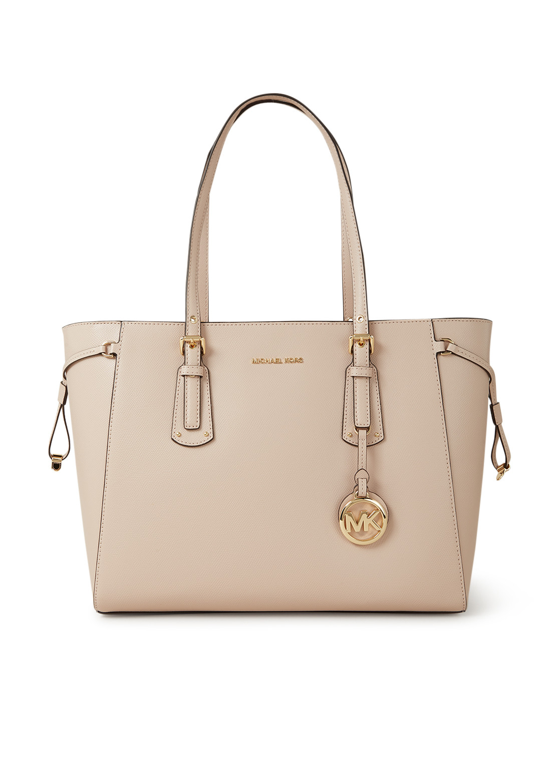 Michael Kors Voyager Medium schoudertas met logo