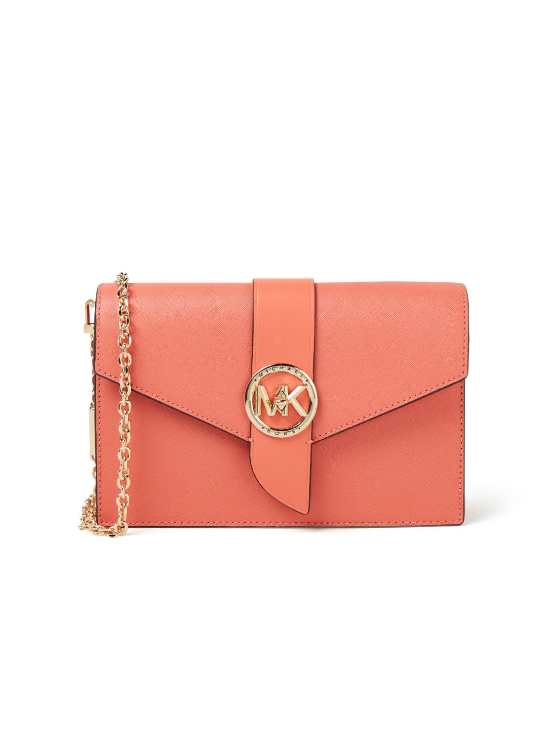 Michael Kors Charm Medium crossbodytas van leer